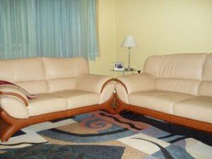 Перетяжка кожаной мебели в Реутове