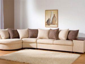 Перетяжка углового дивана на дому в Реутове